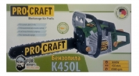Бензопила Procraft K450L Professional